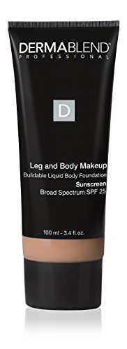 Dermablend - Leg and Body Makeup Buildable Liquid Body Foundation SPF 25 Light Beige 35C