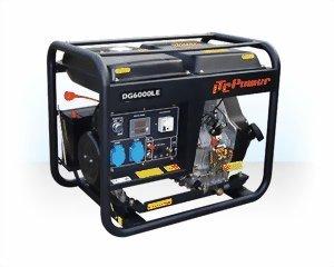 ITC Diesel 5500W dg6000le obras corriente aggregat Generadores de corriente profesional