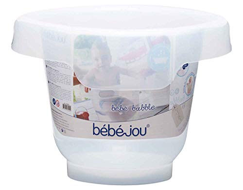 Bebé Jou Cubo Bañera Bebé-Bubble Transparente