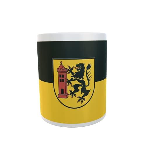 U24 Tasse Kaffeebecher Mug Cup Flagge Meißen Stadt