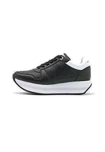 Calvin Klein Vaqueros Runner Flatform Laceup - Zapatillas bajas