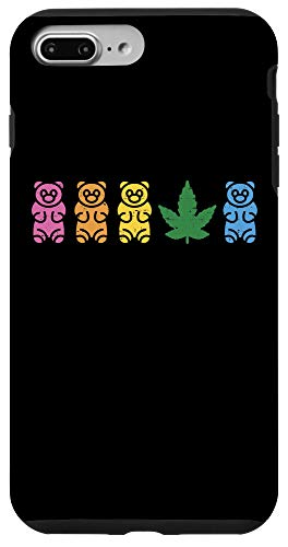 iPhone 7 Plus/8 Plus CBD Gummies Cute Weed Cannabis Hemp Oil Lover Dealer Gift Case