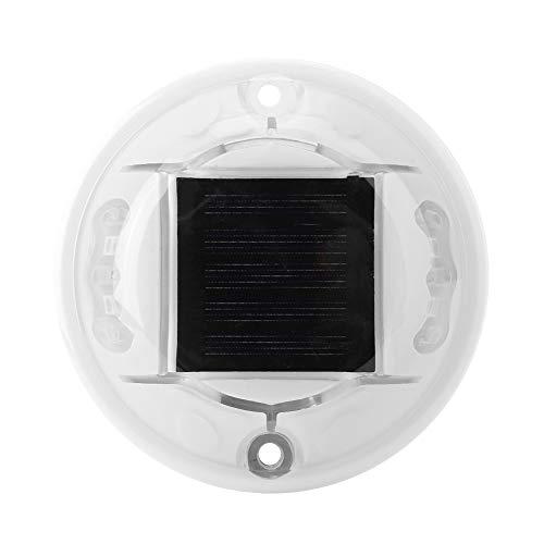 Alinory Stud Light, Solar LED Stud Light Dual Side Lighting Round Road Pathway Highway Garden Light IP68 Waterproof