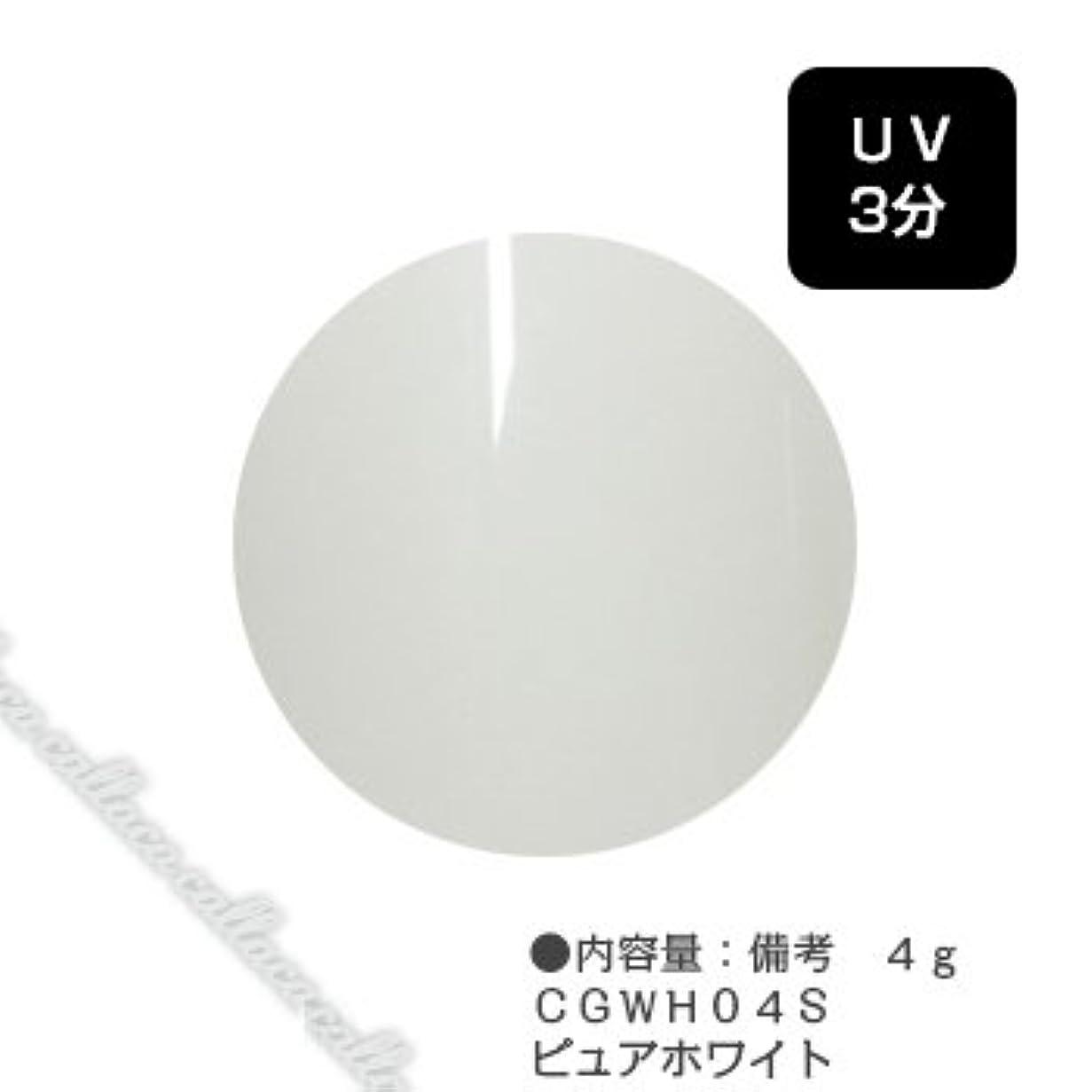 カジュアル匹敵します誠意カルジェル(Calgel) カラージェル 4g  CGWH04S ピュアホワイト