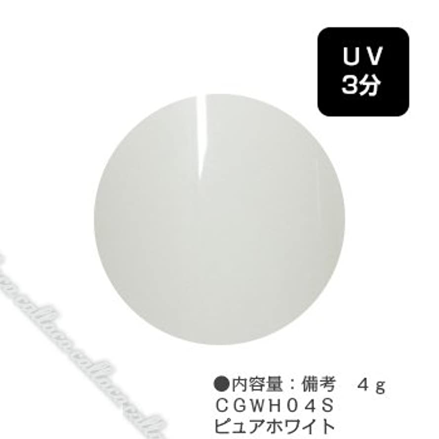 枕熟す磁器カルジェル(Calgel) カラージェル 4g  CGWH04S ピュアホワイト