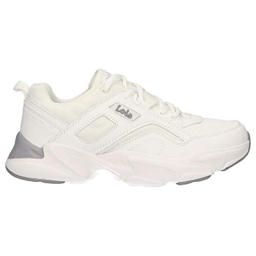 Lois Jeans Zapatillas Deporte 85690 6 Blanco 41 para Mujer