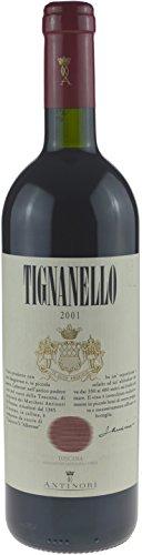 Tignanello Antinori IGT Jahrgang 2001-0,75l - kräftiger italienischer Rotwein
