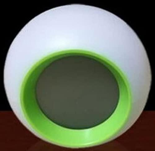 Reloj Despertador de Salida del Sol, Reloj de LED Digital, Reloj Despertador con 6 interruptores, demostración de Sonido Natural y Control táctil: con función de Snooze para durmientes Pesados,Verde