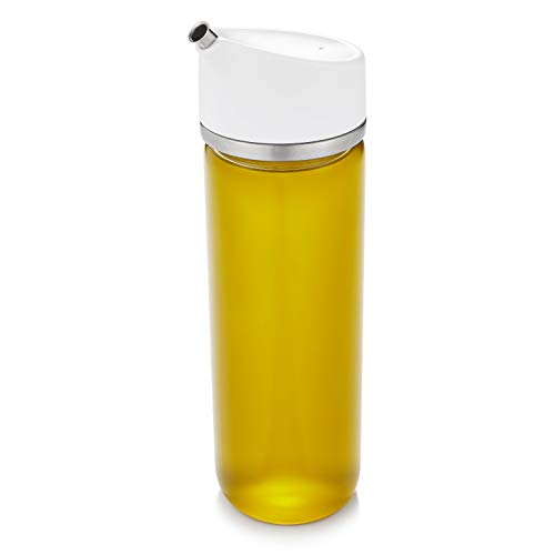 OXO Good Grips Precision Pour Glass Oil Dispenser - 12 oz,Clear,12 oz - Oil Dispenser