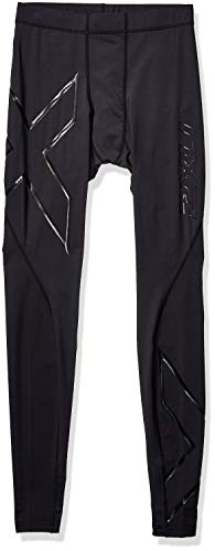 2XU Men's Core Compression Tights, Black/Nero, Medium