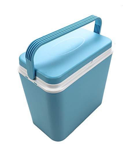 Bubble-Store Kühlbox, Volumen 24 Liter, mit Tragegriff, Warmhaltebox, Isolierbox, für 6x2 Liter Flaschen, hält Temperatur ca. 8 Std.