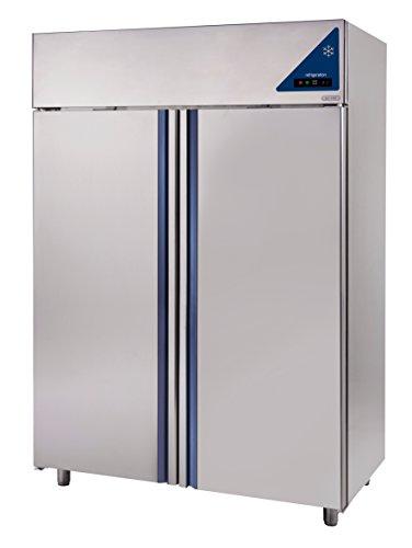 Gastlando - Premium Edelstahl Gewerbe-Kühlschrank - Umluft - 1400 Liter - Edelstahltüren - 0° bis +10 °C