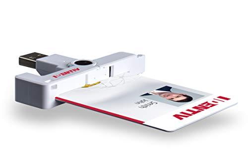 SCM uTrust SCR3500 A - kompakter SmartFold liest kontaktbehaftete Chipkarten im ID-1-Kartenformat (Kreditkartengröße) / uTrust / 905141 / 905430-1