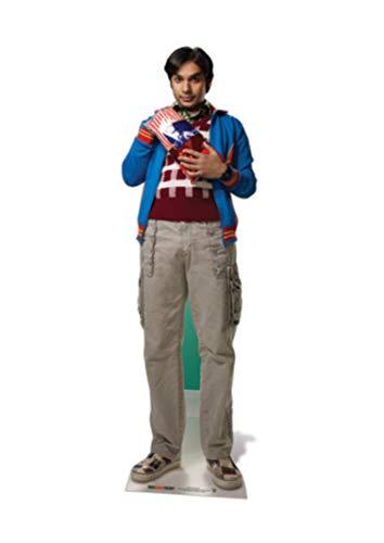 Star cutouts - Stsc622 - Figurine Géante - Raj Koothrappal - The Big Bang Theory