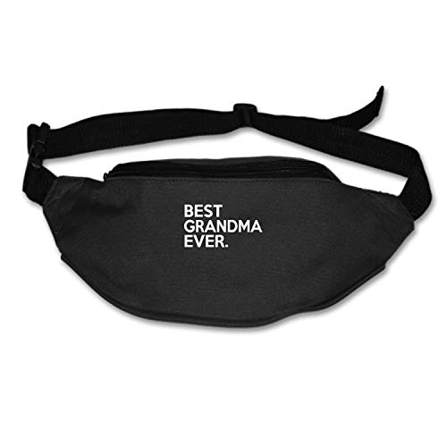 Christopher Macadam Best Grandma Ever Wallets Fanny Sport Pouch Waist Packs Hip Pack Bum Chest Bag
