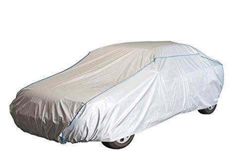 Kley & Partner Auto Abdeckung Vollgarage Ganzgarage kompatibel mit Audi A4 Cabrio Auto Plane Abdeckung UV-beständig atmungsaktiv wasserfest