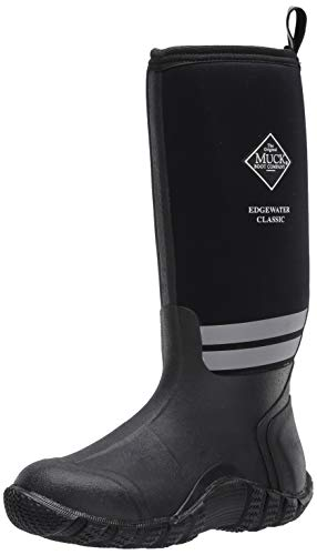 Muck Boot Men's Edgewater Classic Mid Calf Boot, Black, 9
