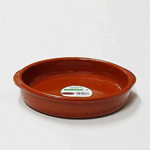 raimundo sanchez tegame in Terracotta con Manici 22cm, 0.8litri, Miele