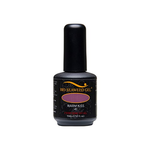 Bio Seaweed Gel 3 Step Gel Polish, Warm Kiss Number 41 15 ml