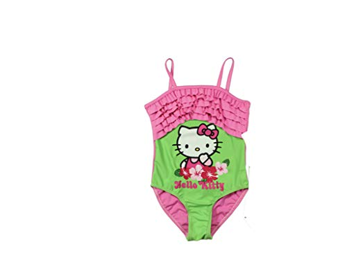 Hello Kitty Kinder Badeanzug Badeanzug - Grün, 122