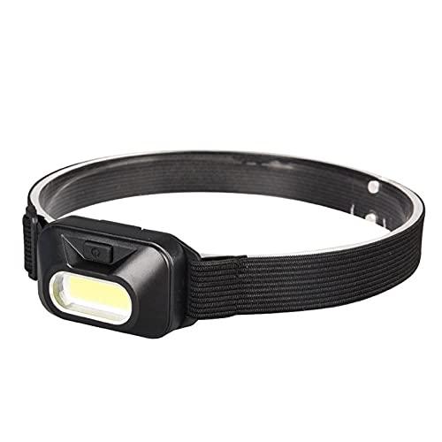Linterna Frontal Envío de gota USB Faro recargable Mini Linterna portátil de la lámpara de la lámpara de la lámpara de antorcha tiene batería Rojo/Blanco LED Faro