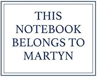 This Notebook Belongs to Martyn