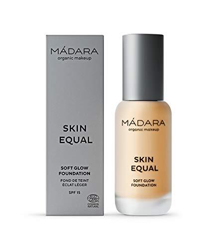 MÁDARA Organic Skincare | Skin Equal Soft Glow Foundation SPF15#40 SAND - 30ml, Leichte...