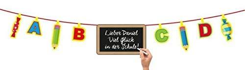 Folat Blackboard Banner Schulanfang 4mtr.