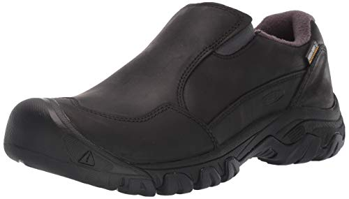 KEEN Women's Hoodoo III Slip ON WP Loafer, Black/Black, 5 M US