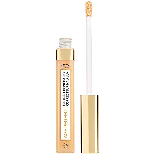 L'Oreal Paris Age Perfect Radiant Concealer with Hydrating Serum & Glycerin, Nude Beige