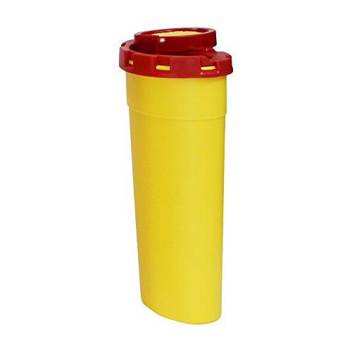 Abwurfbehälter für Kanülen und Spritzen verschiedene Größen, Fassungsvermögen:200 ml
