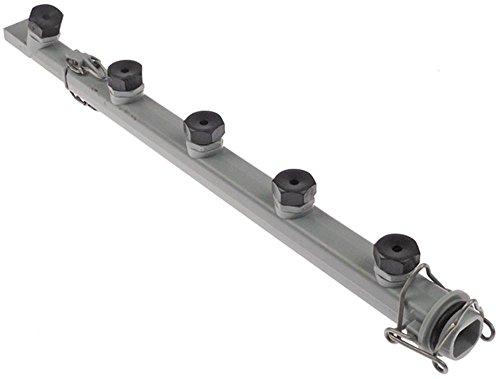 Jemi Bras de lavage pour lave-vaisselle GS-8-2 Longueur 363 mm 4 buses Hauteur 45 mm Largeur 55 mm 4 Longueur 450 mm