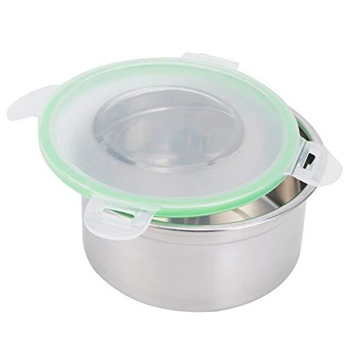 Asixxsix Recipiente de conservación, contenedor de Almacenamiento de Alimentos de 3 Piezas/Juego, para el hogar del refrigerador