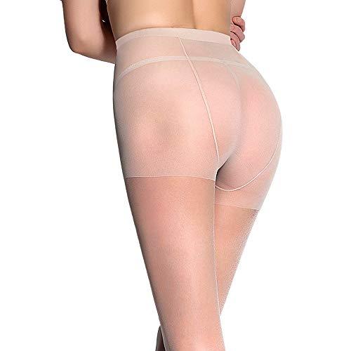 WANGXB Pantys,Panty Medias,Medias sexys ultrafinas,Spandex de Alta Elasticidad,no deformado después de un Uso prolongado,cómodo de Llevar,elástico Confort, vestibilidad,Úselo Variedad Lugares.