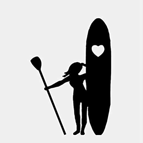 Pegatinas De Pared Calcomanías Papel Pintado Tabla De Surf Remo Gimnasio Deportes Vinilo Art Club Sala De Estar Niños Dormitorio Decoración Del Hogar 59X44 Cm