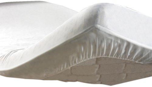 Douceur D'Intérieur  - 1640080, Coprimaterasso , 160 X 200 Cm , Protege Matelas Molleton Aa , Mollettone Anti,Acaro , Bianco