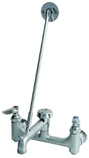 TS Brass B-0665-BSTR Service Sink Faucet, Chrome by T&S Brass