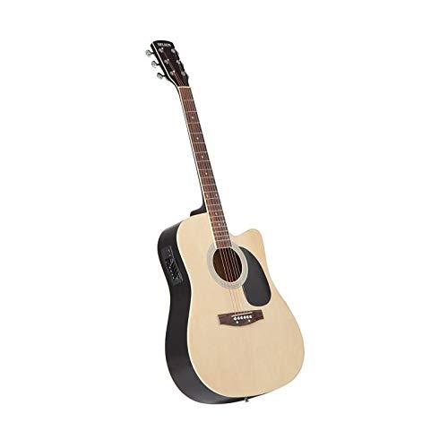 Delson HW-41 - Guitarra electroacústica, color madera natural