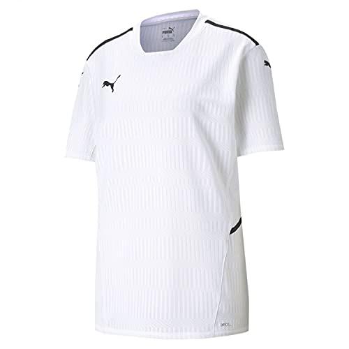 PUMA teamCUP Jersey Camiseta, Hombre, Puma White, M