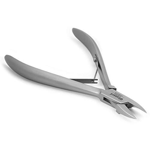Blizzard Nagelzange - Eckenzange Extra schlank - Podologie-Werkzeugfür Arbeiten bis in den Nagelfalz und Eckenbereich - Fußpflege CE Medizinprodukt Edelstahl - 13 cm