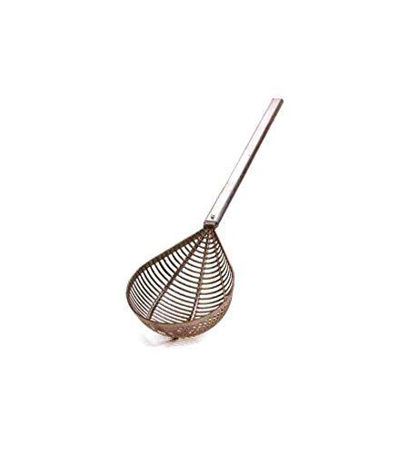 Pentole Agnelli Cavagnocchi con Manico Estruso, 50 cm, Alluminio, Argento