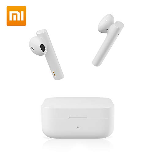 Bluetooth Wireless Earbuds für Xiaomi Air 2 SE Mi True kabellos In Ear Onrhörer Bluetooth 5.0 Hi-Fi Stereo-Sound Drahtlo TWS Airdots Touch Control mit Mikrofon kabellos Earphones für Ios/Android weiß