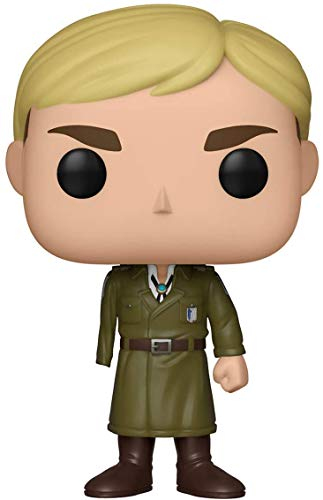Funko Pop! Animation: Attack on Titan - Erwin (Au-Armed) Toy, Multicolore Limited Edition