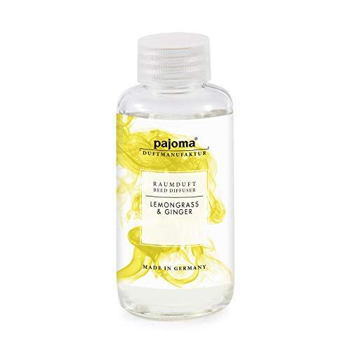 pajoma Raumduft Nachfüllflasche 100ml Duftöl für Diffuser Duft wählbar (Lemongrass-Ginger)