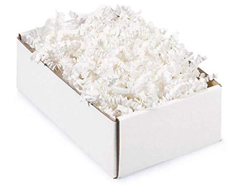 Papier-Füllmaterial Kräuselpapier für Geschenke - 500 gr (weiss)