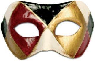 Metamorph Karneval / Kostüm / Halloween Venezianische Maske - Colombina arlecchino classico
