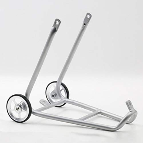 Nrpfell Aluminum Alloy Bike Rear Rack for Brompton with Easy Wheels Bicycle Holder Luggage Shelf Bicycle Accessories