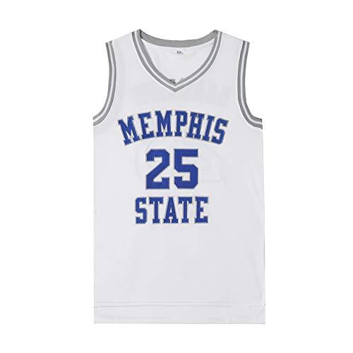 OMRIHAN - Camiseta de baloncesto para hombre, 90S Hip Hop ropa para fiesta, letras y números con costuras transpirables, camiseta clásica de baloncesto para aficionados a la película espacial (S-XXXL)