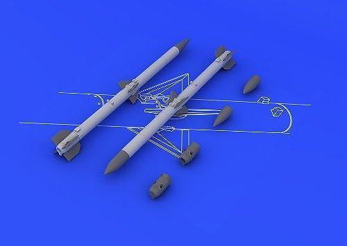 diseño único EDU648087 1 48 Eduard Brassin AIM-120C AMRAAM Set (2 pcs) pcs) pcs) by Eduard  en linea