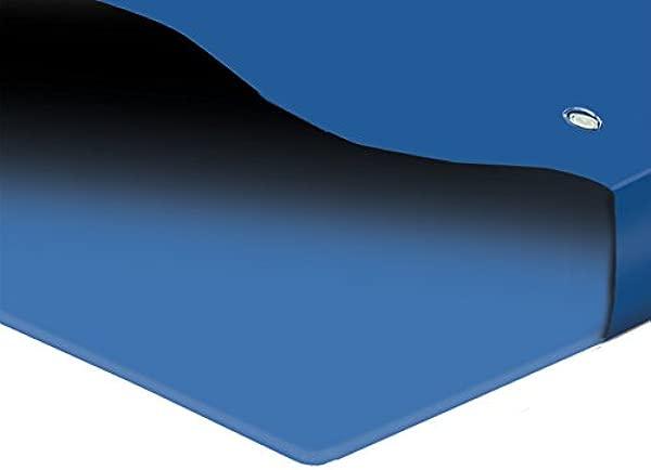 加州国王深填充自由流动水床床垫与衬垫和填充排水套件